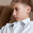 Studying sight of boy - teenager — Stock Photo #12331975