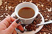 Hot Coffe — Stock Photo