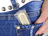 Condom — Stock Photo