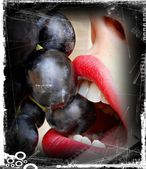 Sexy lips — Stock Photo
