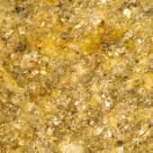 Sparkly Golden Rock Background — Stock Photo