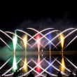 Photographing Criss Cross Fireworks — Stock Photo