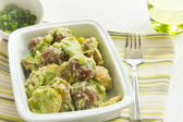 Potato Salad with Avocado and Sour Cream Dressing — Stock Photo
