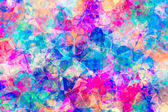 Abstract Coloured Jewel Background — Stock Photo