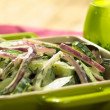Cucumber and Red Onion Salad - Stockfoto