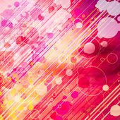 Abstract Graphic Background with circles — Stock Photo