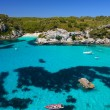 View of Macarella bay and beautiful beach, Menorca - Stock Photo