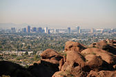 Phoenix skyline: view from Camelback Mountain — Stok fotoğraf