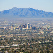 Phoenix skyline: view from Camelback Mountain — Stock Photo