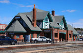 Flagstaff railway station — Stock Photo