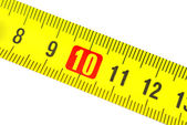 Tape measure in centimeters — Stockfoto
