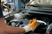 Car-service inne — Stockfoto