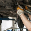 Car service inside - Stockfoto