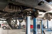 Car-service binnen — Stockfoto