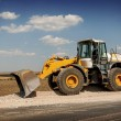 Construction and repair of roads and highways — Stock Photo