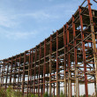 Stock Photo: Abandoned metal construction