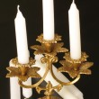 Royalty-Free Stock Photo: Candlestick with three candles