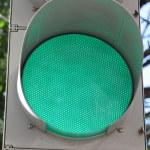 Green signal — Stock Photo