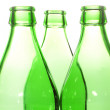 Three glass bottle neck — Stock Photo #12799965