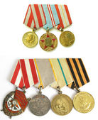 Medals during the Second World War — Stock Photo