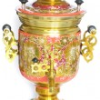 Used Russian samovar - Stock Photo
