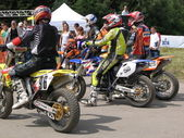 Race, super moto — Stockfoto