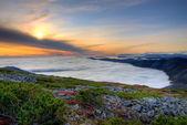 Mountain sunset — Stock Photo