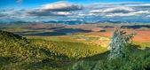 Autumn valley — Stock Photo
