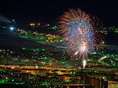 The new year celebration — Stock Photo
