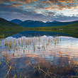 The mountain lake - Stockfoto