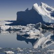 Icebergs of the western Greenland — Stock Photo