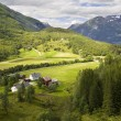 Nature of summer Norway. Mountains. — Stock Photo #14812057