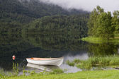 The nature of summer Norway. Mountains, lakes. Fjords of Norway. — Foto Stock