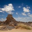 Rocks of Sahara Desert - Stock Photo