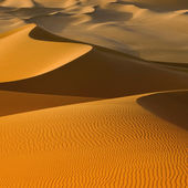 Sand dunes in the Sahara Desert, Libya — Stock Photo