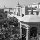 Dak van het paleis van de luxe — Stockfoto