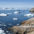 Western coast of Greenland. — Foto Stock
