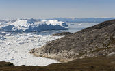 Western coast of Greenland. — Stockfoto