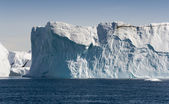 Blue icebergs of Greenland — Stockfoto