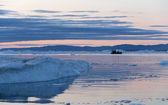 El hielo en la antártida — Foto de Stock
