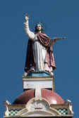 Christ Sculpture on the Matriz Church — Stock Photo