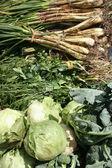 Zelenina na trhu — Stock fotografie