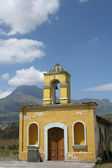 Old Stone Church in Cotacachi Ecuador — Stock Photo