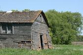 An Abandoned Barn Collapsing — Stock Photo