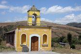 Stenkyrkan nära cotacachi — Stockfoto