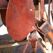 Stock Photo: Side of Saddle