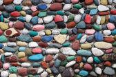 画的岩墙 — 图库照片