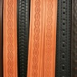 Stamped Belts — Stock Photo