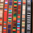 Colorful Cloth and Leather Belts — Stock Photo