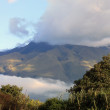 Cloud Covered Mount Imbabura — Stock Photo